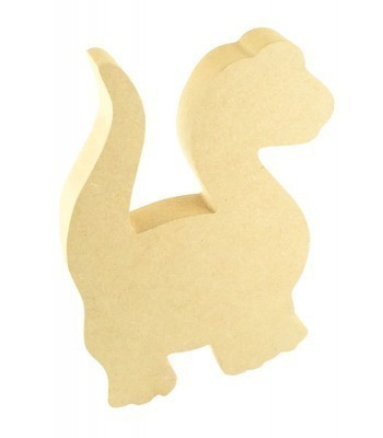 18mm Freestanding MDF Dinosaur Shape